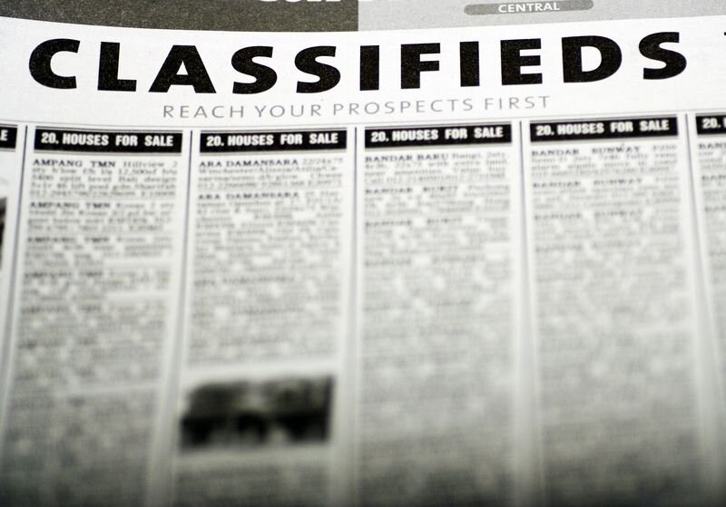 Advertising In Free Classifieds